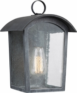 Feiss OL13300ABLK Hodges Vintage Ash Black Outdoor Wall Lighting Sconce