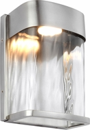 Feiss OL14100PBS-LED Bennie Modern Painted Brushed Steel LED Outdoor Wall Sconce Light