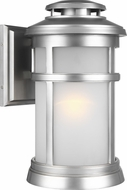 Feiss OL14302PBS Newport Painted Brushed Steel Outdoor 9.25  Wall Lighting