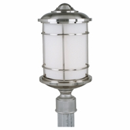 Feiss OL2207BS Lighthouse Nautical Brushed Steel Exterior Post Light