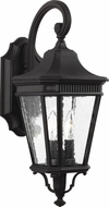 Feiss OL5421BK Cotswold Lane Traditional Black Exterior 9  Lighting Sconce
