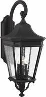 Feiss OL5424BK Cotswold Lane Traditional Black Outdoor 12  Wall Light Fixture