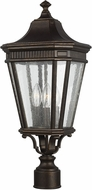 Feiss OL5427GBZ Cotswold Lane Grecian Bronze Exterior Post Lighting