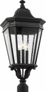 Feiss OL5428BK Cotswold Lane Traditional Black Outdoor Lamp Post Light