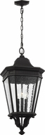 Feiss OL5432BK Cotswold Lane Traditional Black Outdoor Hanging Lamp