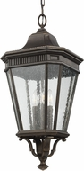 Feiss OL5432GBZ Cotswold Lane Grecian Bronze Outdoor Pendant Lamp
