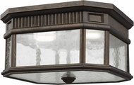 Feiss OL5433GBZ Cotswold Lane Grecian Bronze Exterior Flush Lighting