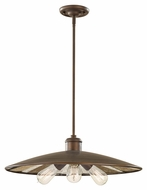 Feiss P1281ASTB Urban Renewal Astral Bronze 22 Inch Chandalier Light