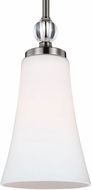 Feiss P1415SN Evington Satin Nickel Mini Drop Lighting