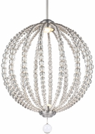 Feiss P1426SN-LED Oberlin Contemporary Satin Nickel LED Drop Lighting Fixture