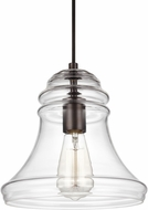 Feiss P1440ORB Doyle Contemporary Oil Rubbed Bronze Mini Drop Lighting Fixture