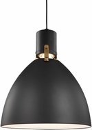 Feiss P1442MB-LED Brynne Modern Matte Black LED Hanging Lamp