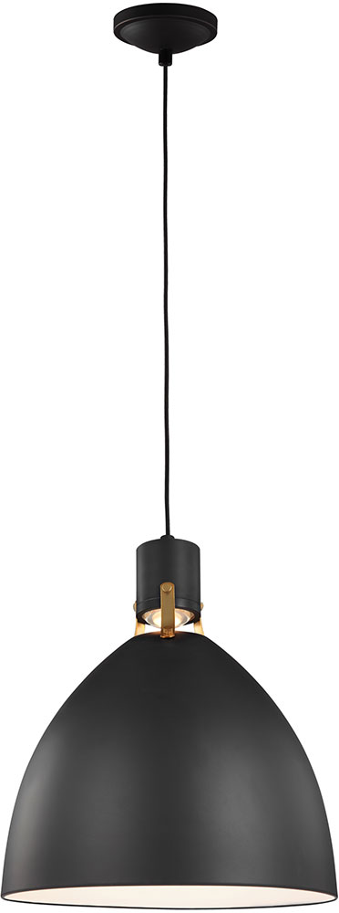 Feiss p1443mb led brynne modern matte black led pendant light feiss p1443mb led brynne modern matte black led pendant light fixture loading zoom mozeypictures Image collections