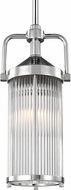 Feiss P1448CH Paulson Contemporary Chrome Mini Hanging Light Fixture
