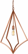 Feiss P1451CPR Nico Contemporary Copper Foyer Lighting