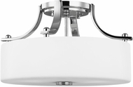 Feiss SF259CH Sunset Drive Chrome 13  Overhead Light Fixture