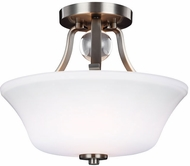Feiss SF334SN Evington Satin Nickel Overhead Light Fixture