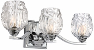 Feiss VS22703CH Kalli Chrome Fluorescent 3-Light Bathroom Vanity Light