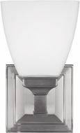 Feiss VS22801SN Putnam Satin Nickel Wall Light Sconce