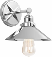 Feiss VS23401CH Hooper Retro Chrome Lighting Wall Sconce