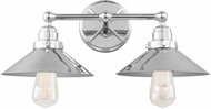 Feiss VS23402CH Hooper Retro Chrome 2-Light Lighting For Bathroom