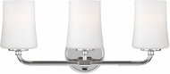 Feiss VS23603CH Jennie Chrome 3-Light Vanity Lighting