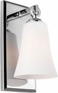 Feiss VS23701CH Monterro Chrome Wall Sconce Lighting