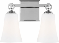 Feiss VS23702CH Monterro Chrome 2-Light Bath Light Fixture