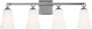 Feiss VS23704CH Monterro Chrome 4-Light Bathroom Light Fixture
