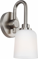 Feiss VS23901SN Reiser Satin Nickel Wall Light Sconce