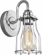 Feiss VS24001CH Calgary Modern Chrome Wall Lighting Fixture