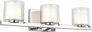 Feiss VS24203CH Volo Contemporary Chrome 3-Light Lighting For Bathroom