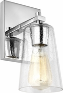 Feiss VS24301CH Mercer Contemporary Chrome Wall Lighting Sconce