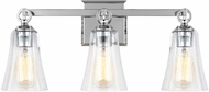 Feiss VS24703CH Monterro Chrome 3-Light Bathroom Lighting