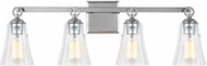 Feiss VS24704CH Monterro Chrome 4-Light Lighting For Bathroom