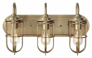 Feiss VS36003-DAB Urban Renewal Nautical Bath Lighting - Dark Antique Brass Finish