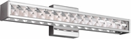 Feiss WB1832CH-LED Jessie Modern Chrome LED Vanity Light