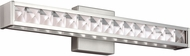 Feiss WB1832SN-LED Jessie Contemporary Satin Nickel LED Bath Light Fixture