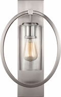 Feiss WB1846SN Marlena Modern Satin Nickel Wall Lighting Fixture
