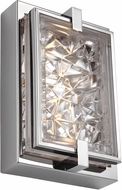 Feiss WB1865PST-LED Erin Contemporary Polished Stainless Steel LED Wall Lighting Sconce