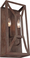 Feiss WB1865WI Marquelle Modern Weathered Iron Wall Sconce Lighting