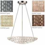 Fine Art Lamps 842840 Constructivism Contemporary 16  Wide Hanging Lamp