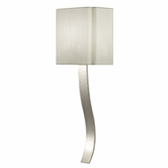 Fine Art Lamps 211350 Grosvenor Square Polished Nickel Finish 7.5  Wide Light Sconce