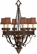 Fine Art Lamps 220140ST Castile Traditional Other Dark Chandelier Light
