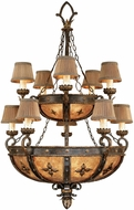 Fine Art Lamps 428140ST Castile Traditional Other Dark Hanging Chandelier