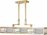 Fine Art Lamps 812240-2ST Crystal Enchantment Gold LED Kitchen Island Lighting