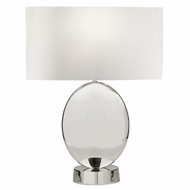 Fine Art Lamps 826010 Grosvenor Square Polished Nickel Finish 19  Wide Table Lighting