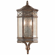 Fine Art Lamps 838081 Holland Park Traditional Antique Bronze Finish 10  Wide Exterior Wall Light Fixture