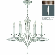 Fine Art Lamps 843540 Marquise 25 Tall Chandelier Light