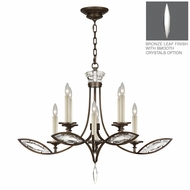Fine Art Lamps 843640 Marquise 36  Wide Chandelier Lighting